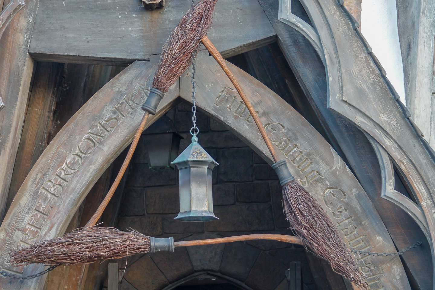 Three Broomsticks Wizarding World of Harry Potter