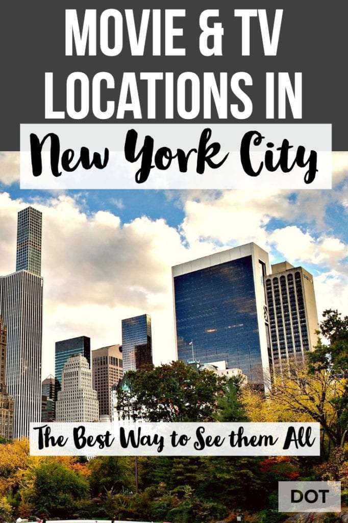 Movie and TV Locations in NYC Pin