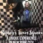 Ripley's Believe it or not in Times Square is a unique family fun experience. Even if you've been to a Ripley's Believe it or Not Museum, this one is different. #ripleysbelieveitornot #ripleys #familyvacation #newyorkcity #timessquare
