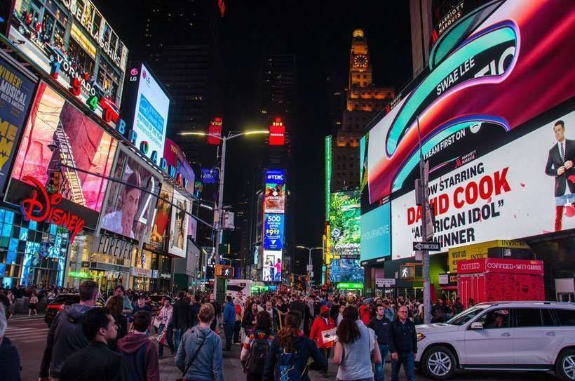 Family Friendly Restaurants in Midtown Times Square