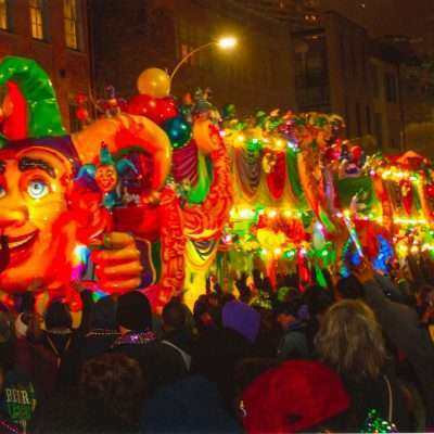 Give Kids the World Offers Chance to Ride a Mardi Gras Float in New Orleans