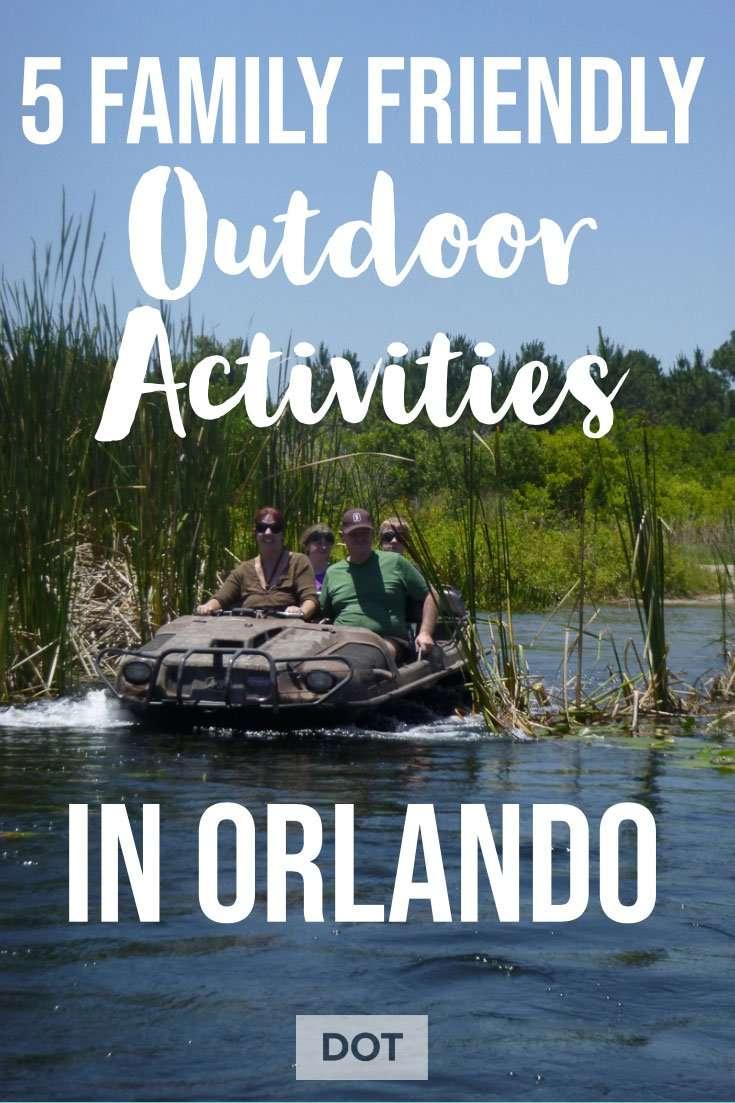 Outdoor Activities Orlando Pin