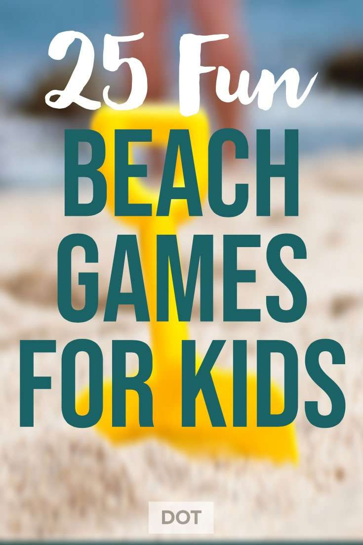 Beach Games for Kids Pin