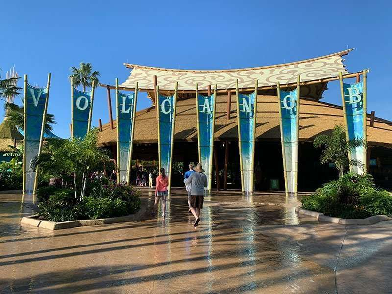The Best family water park entrance to Volcano Bay