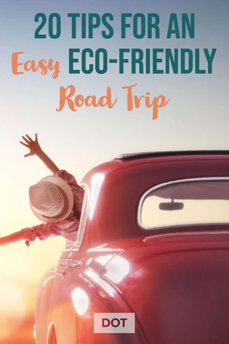 Eco Friendly Road Trip Pinterest Pin