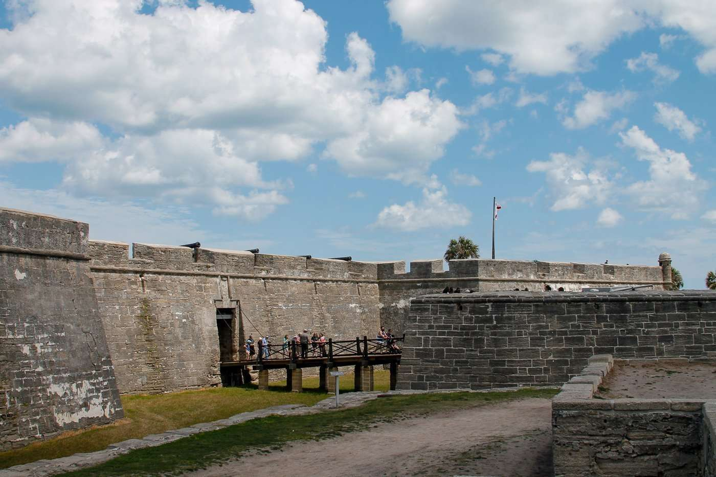 Entrance to Castillo de San Marcos