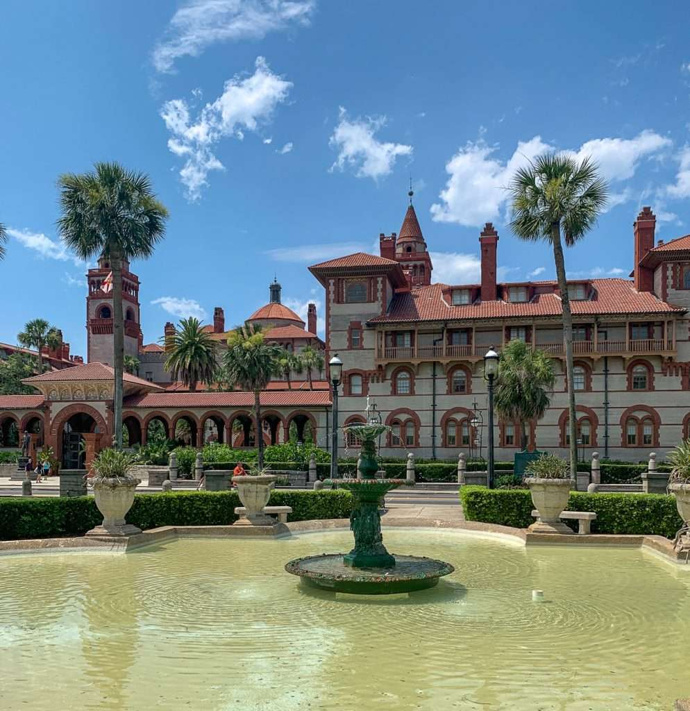St. Augustine's Living History with a tour of Flagler College