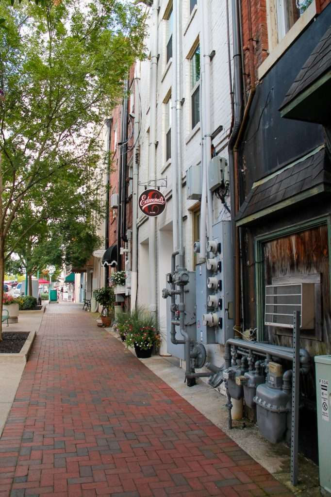 Strawberry Alley on a Walking Tour of Clarksville