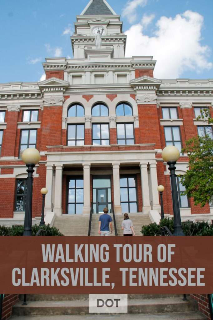 This fun and easy, plus tasty, walking tour of Clarksville, Tennessee will have you fall in love with the small town charm.