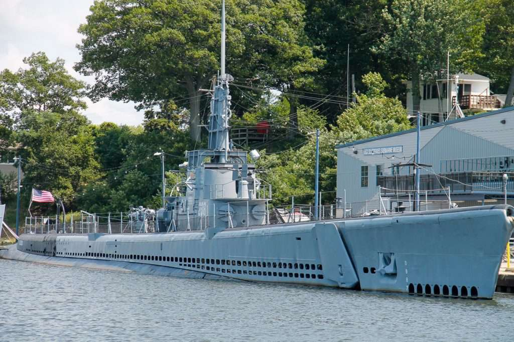 The silversides docked is a real life living muskegon museums