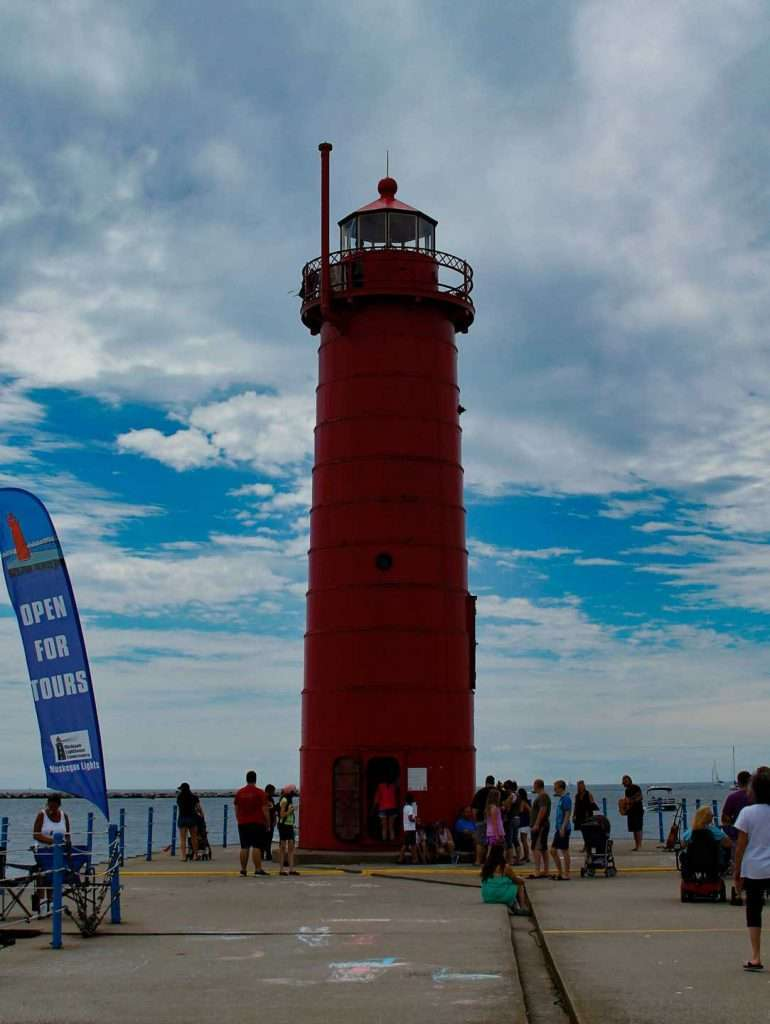 Visit this muskegon museums at the south pierhead lighthouse