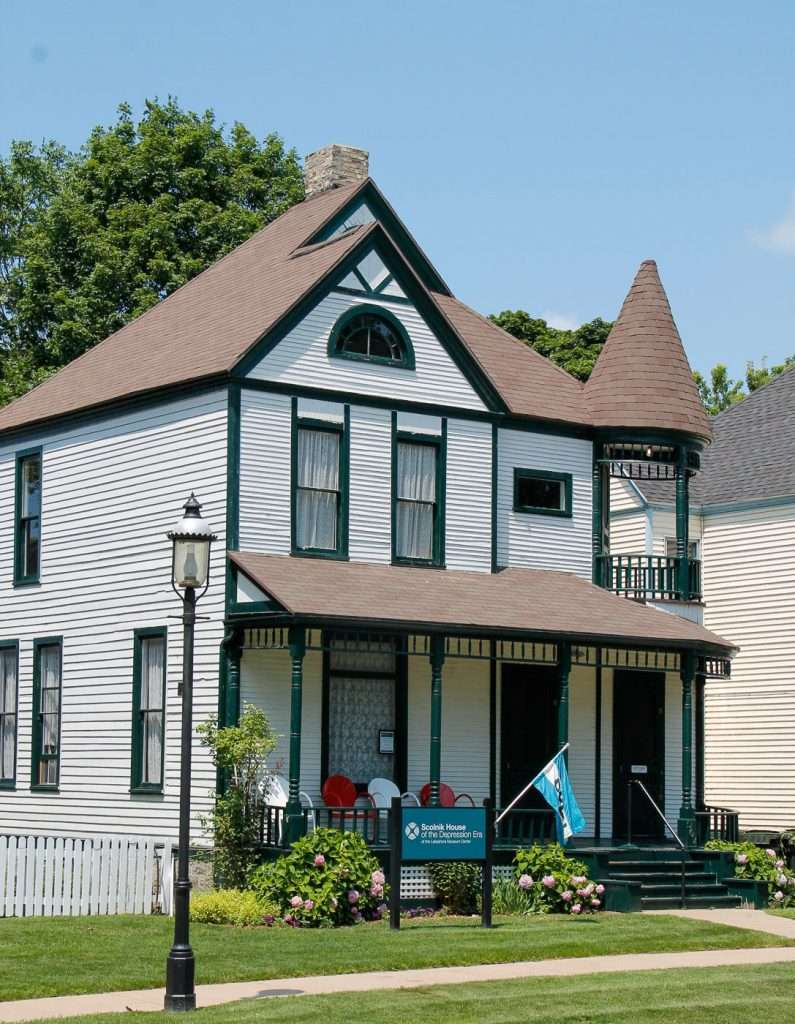 The Scolnik House showing the Depression Era of the Muskegon Museums