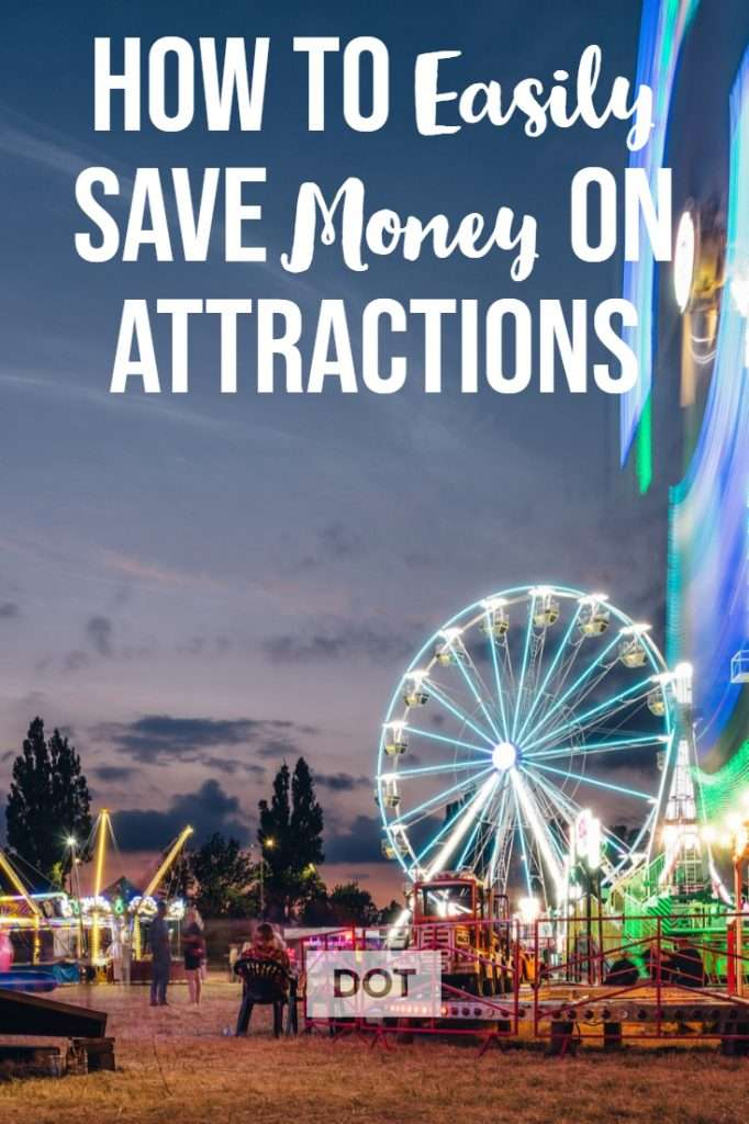 pin to save money on attractions