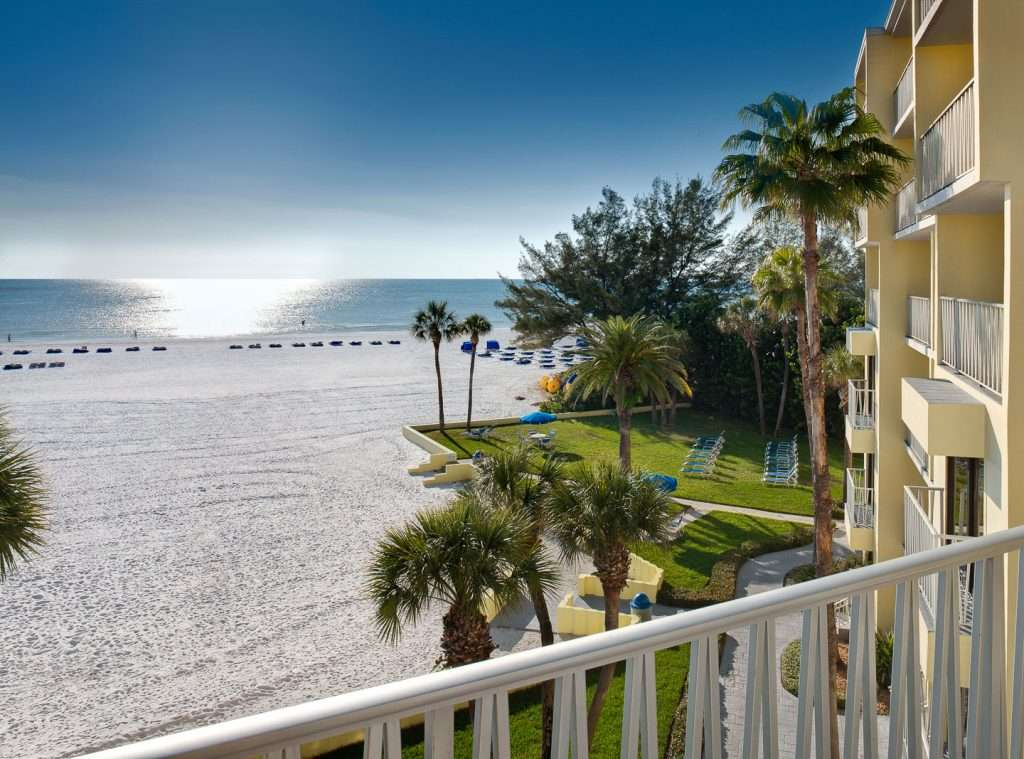 view of Gulf of Mexico at Alden Suites at St. Pete Beach Resort