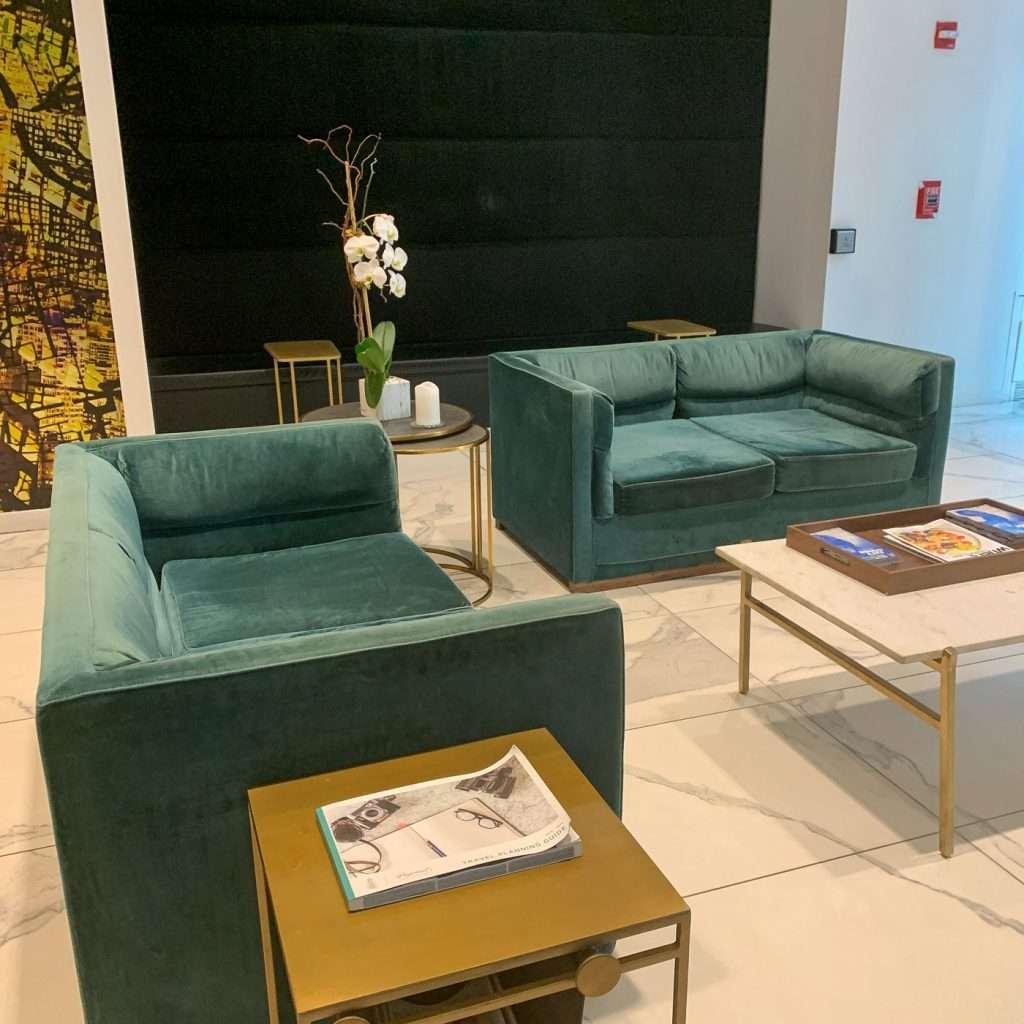 Hotel Hayden Lobby furniture