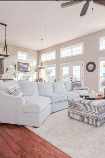 home rental living room