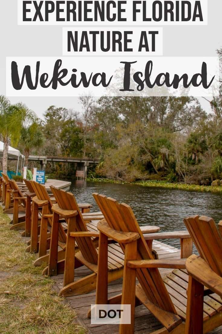 Wekiva Island Pin