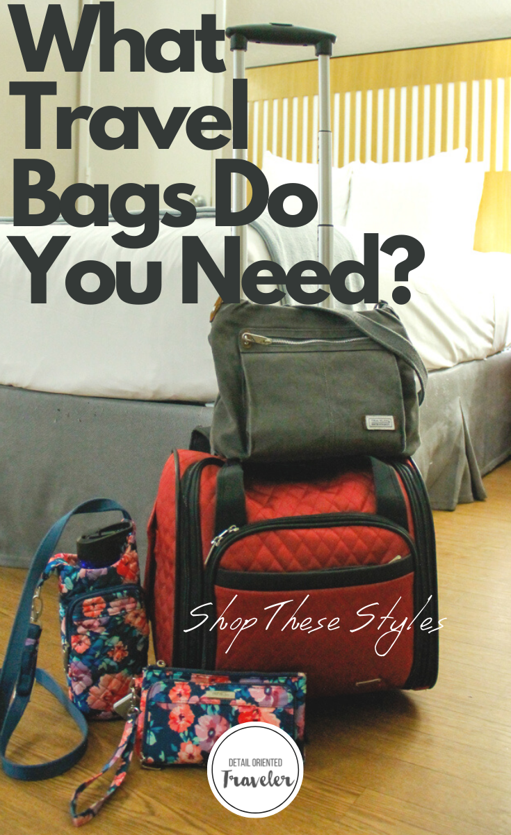 What Travel Bags do you need pinterest