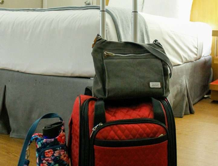 collection of which travel bags you need when traveling