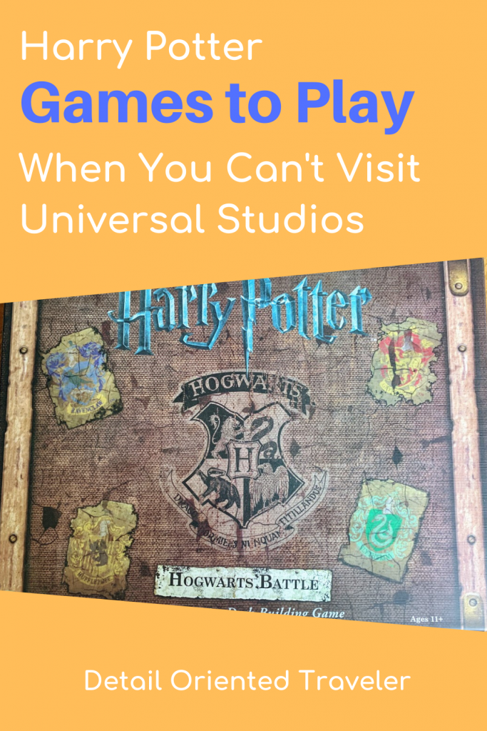 Harry Potter Games pin