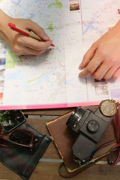 marking a map, what to do if your travel plans get canceled.