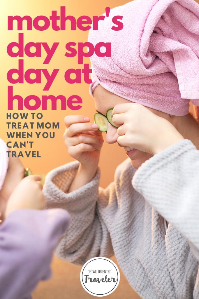 spa day at home pin