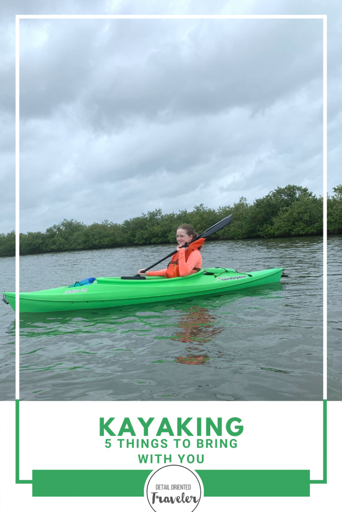 What to bring on a kayak pinterest pin