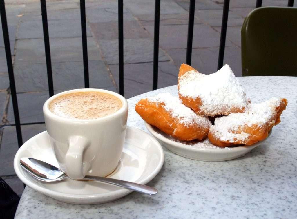 coffee, breakfast, food, types of donuts