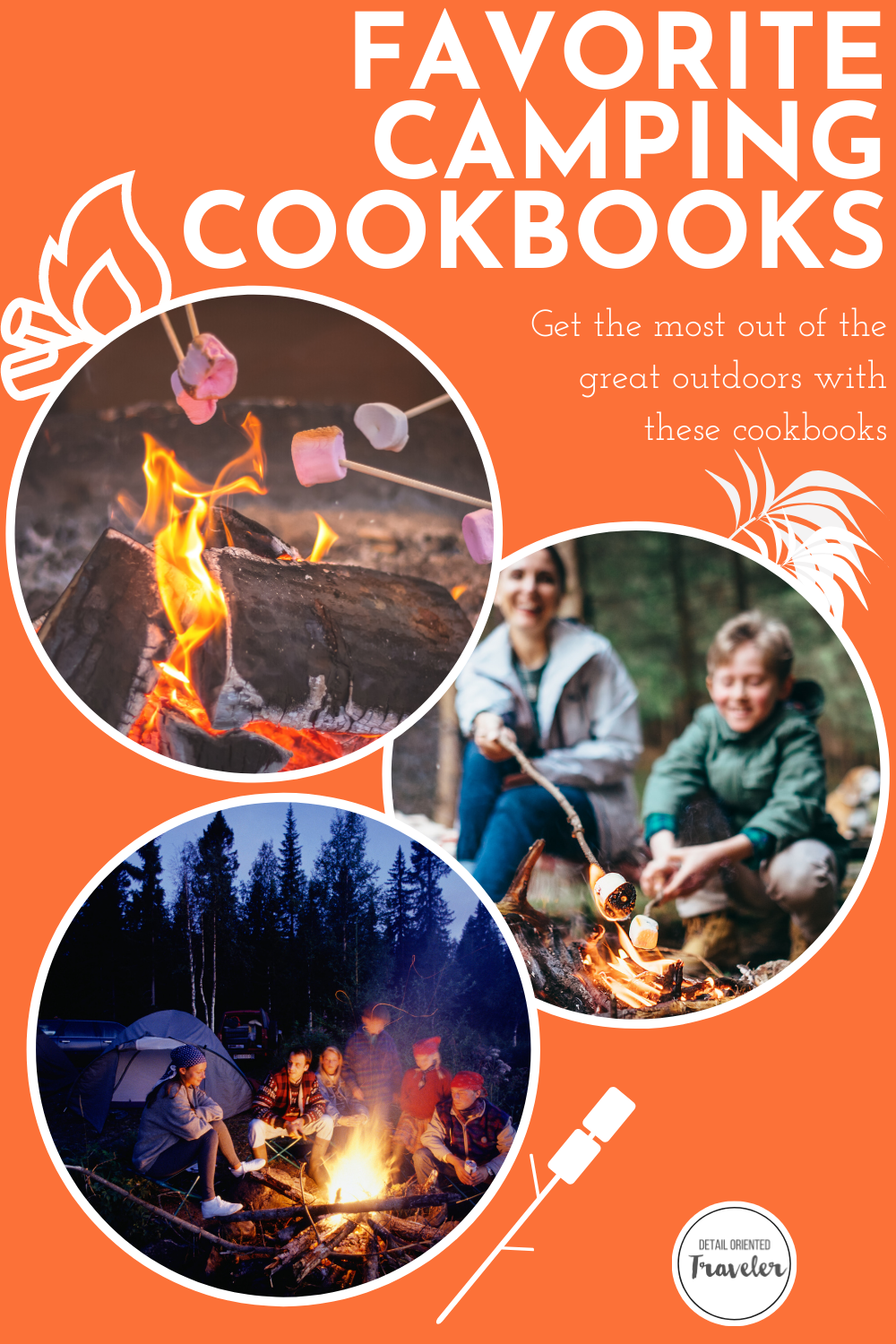 Camping cookbooks pin