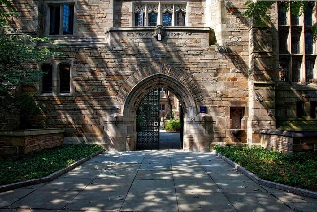 Yale courtyard