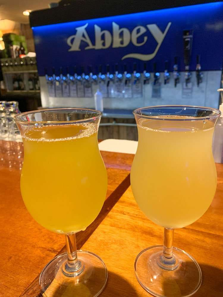 Drinks at Abbey Bar in DeLand, Florida