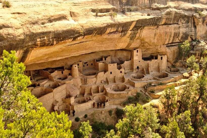 Fabulous Cliff Dwellings at Mesa Verde National Park