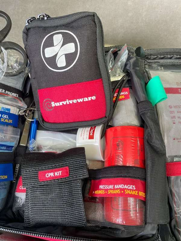 Car Emergency Kit first aid kit from Surviveware